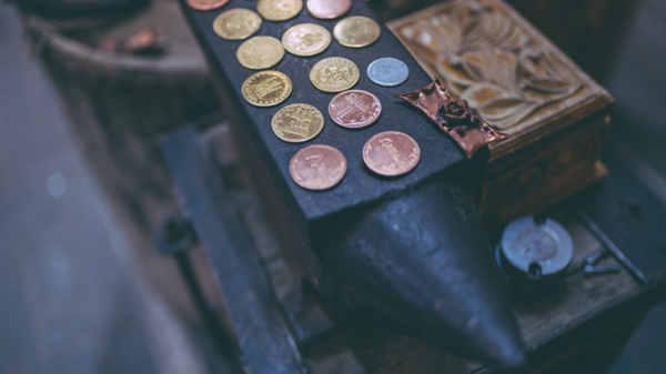 conservar monedas