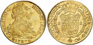 8 escudos España Busto propio