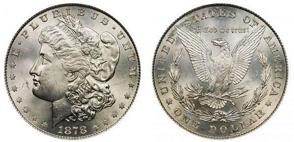 moneda un dolar plata