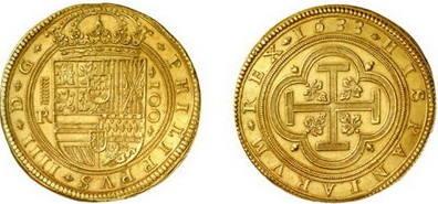 monedas antiguas españolas de oro