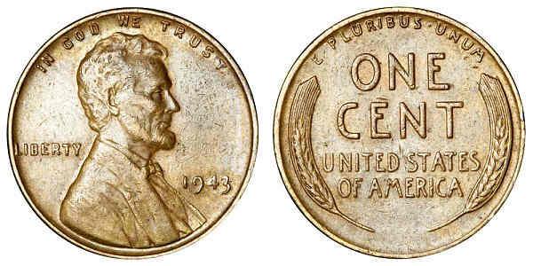 coin pennies 1944