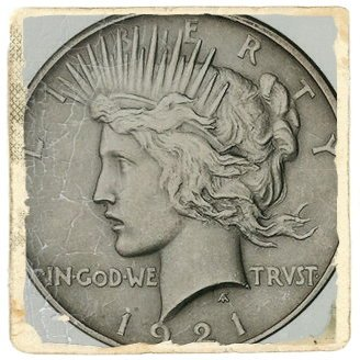 dolar plata 1922
