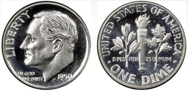 monedas de 10 centavos