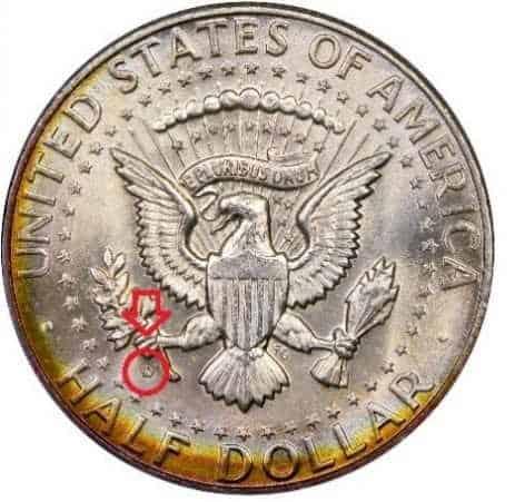 half dollar kennedy 1971