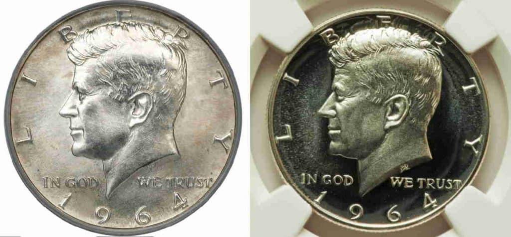 half dollar kennedy 1967