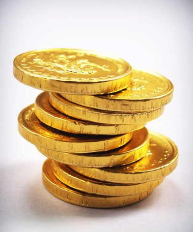 monedas de oro antiguas