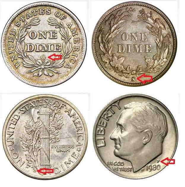 Valuable Dimes Silver And Rare Coins That Worth Money 2020